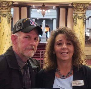 Melissa and Kirk Edwards